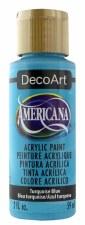 Americana Acrylic Paint, 2oz- Blues: Turquoise Blue