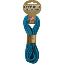 Parachute Cord 4mm x 16ft- Turquoise
