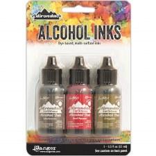 Ranger Alcohol Ink 3 Pack- Tuscan Garden