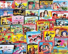 TV Lunch Boxes - 1,000 Piece Puzzle