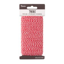 Twine, 100yds- Red & White