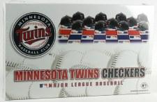 Minnesota Twins MLB Checkers