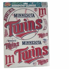 Minnesota Twins Window Clings