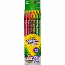 Crayola Twistable Colored Pencils, 12ct