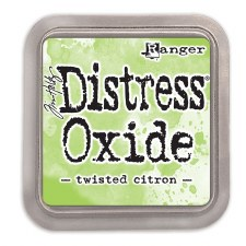 Tim Holtz Distress Oxide- Twisted Citron Ink Pad
