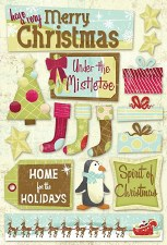 Cardstock Stickers- Under the Mistletoe