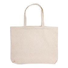 "Canvas Tote, Natural: 18""x13"""