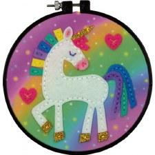 Learn 2 Craft Felt Applique Kit- Unicorn