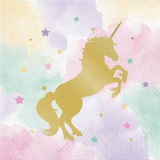 Party Napkins, Lunch 16ct- Unicorn