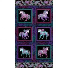 Animals Fabric Panel- Unicorn