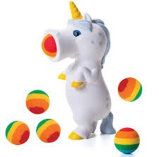 Hog Wild Popper- Unicorn, White