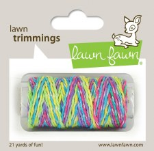 Lawn Fawn Trimmings Cord- Unicorn Tail Sparkle