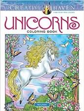 Creative Haven Adult Coloring Book- Unicorns