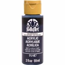 FolkArt 2oz. Acrylic Paint- Uniform Blue
