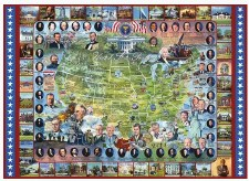 United States Presidents - 1,000 Piece Puzzle