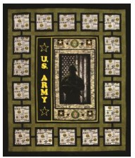 US Army Quilt Kit