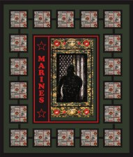US Marines Quilt Kit