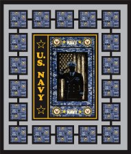 US Navy Quilt Kit