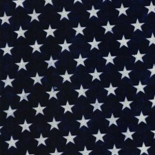 USA Bolted Fabric- Blue with Stars