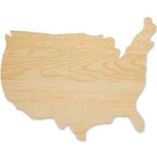 USA Plaque-Natural
