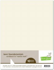 Lawn Fawn Cardstock Pack- Vanilla Malt