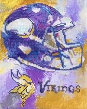 Diamond Facet Art Kit- NFL: Vikings