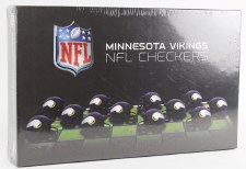 Minnesota Vikings NFL Checkers