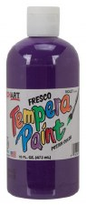 Fresco Tempera Paint, 16oz- Violet