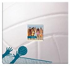 MBI 12x12 Postbound Scrapbook- Sports- Volleyball