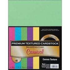 "8.5x11"" Premium Cardstock, 40ct- Carnival"