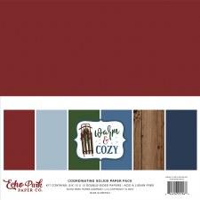 Warm & Cozy 12x12 Solids Paper Kit