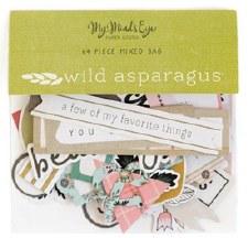 Wild Asparagus Mixed Bag Die Cuts
