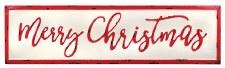 Metal Wall Sign- Vintage Merry Christmas