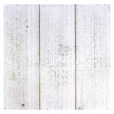 """12"""" Square Pallet Plaque- White Wood"""