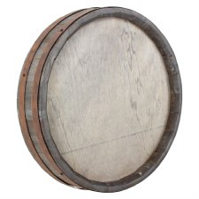 "Wall Art Wine Barrel Lid- 15"""