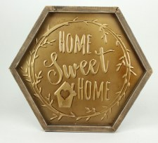 Gather by Nicole Hexagon Sign- Home Sweet Home