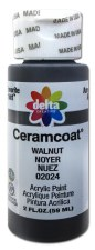 Delta Ceramcoat Acrylic Paint, 2oz- Browns: Walnut