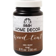 FolkArt Home Decor Wood Tint 8 oz- Walnut