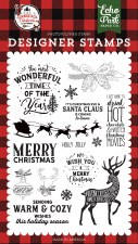 A Lumberjack Christmas Designer Stamps- Warm and Cozy