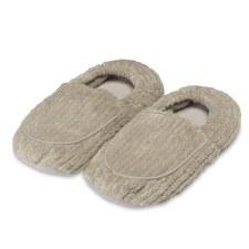 Warmies Spa Therapy Slippers- Warm Grey