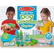 Melissa & Doug Pet Care Play Set- Wash & Trim Dog Grooming