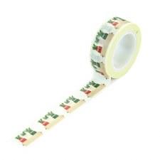 A Cozy Christmas Washi Tape- Holiday Jars