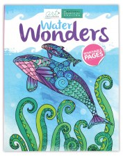 Art Unplugged Adult Coloring Book- Water Wonders