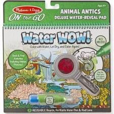 Melissa & Doug On The Go Water Wow! Deluxe- Animal Antics