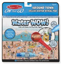 Melissa & Doug On The Go Water Wow! Deluxe- Around the Town