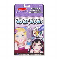 Melissa & Doug On The Go Water Wow!- Makeup & Manicure
