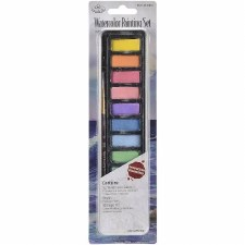 Watercolor Painting Set, 12 colors