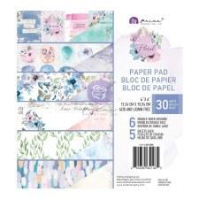 Watercolor Floral 6x6 Paper Pad