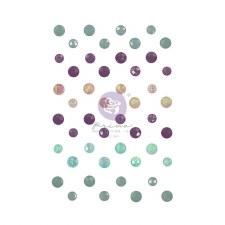 Watercolor Floral Crystals