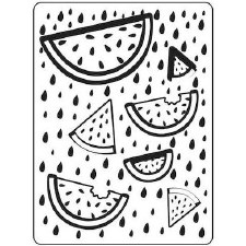 Darice Embossing Folder- Watermelons